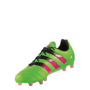 adidas ACE 16.1 FG/AG Leather (Leder) grün/pink/schwarz – Bild 6