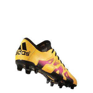 adidas X 15.1 FG/AG Synthetik Fußballschuhe gold/schwarz/pink – Bild 3