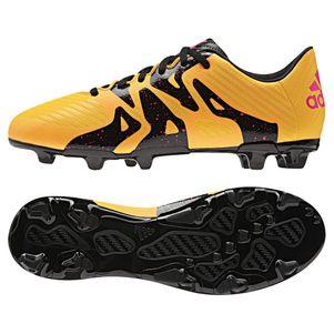 adidas X 15.3 FG/AG Fußballschuhe Synthetik Kinder gold/schwarz/pink – Bild 1