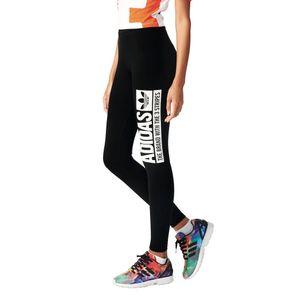 adidas Originals Trefoil Leggings Damen schwarz – Bild 5