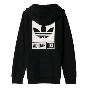 adidas Originals Street Graphic Kapuzenjacke schwarz – Bild 2