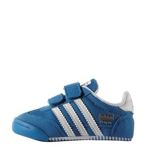 "adidas Originals Babyschuhe Dragon ""Learn2Walk"" Crib blau/weiß – Bild 2"