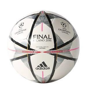 adidas UEFA Champions League Finale Milano Fußball Capitano weiß – Bild 1