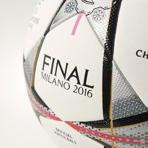 adidas UEFA Champions League Finale Milano OMB Spielball Mailand 2015/2016  – Bild 4