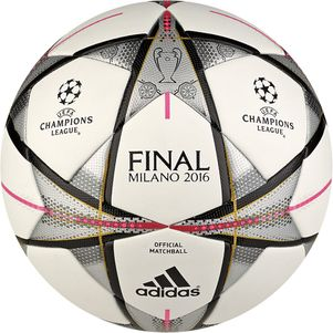 adidas UEFA Champions League Finale Milano OMB Spielball Mailand 2015/2016  – Bild 1