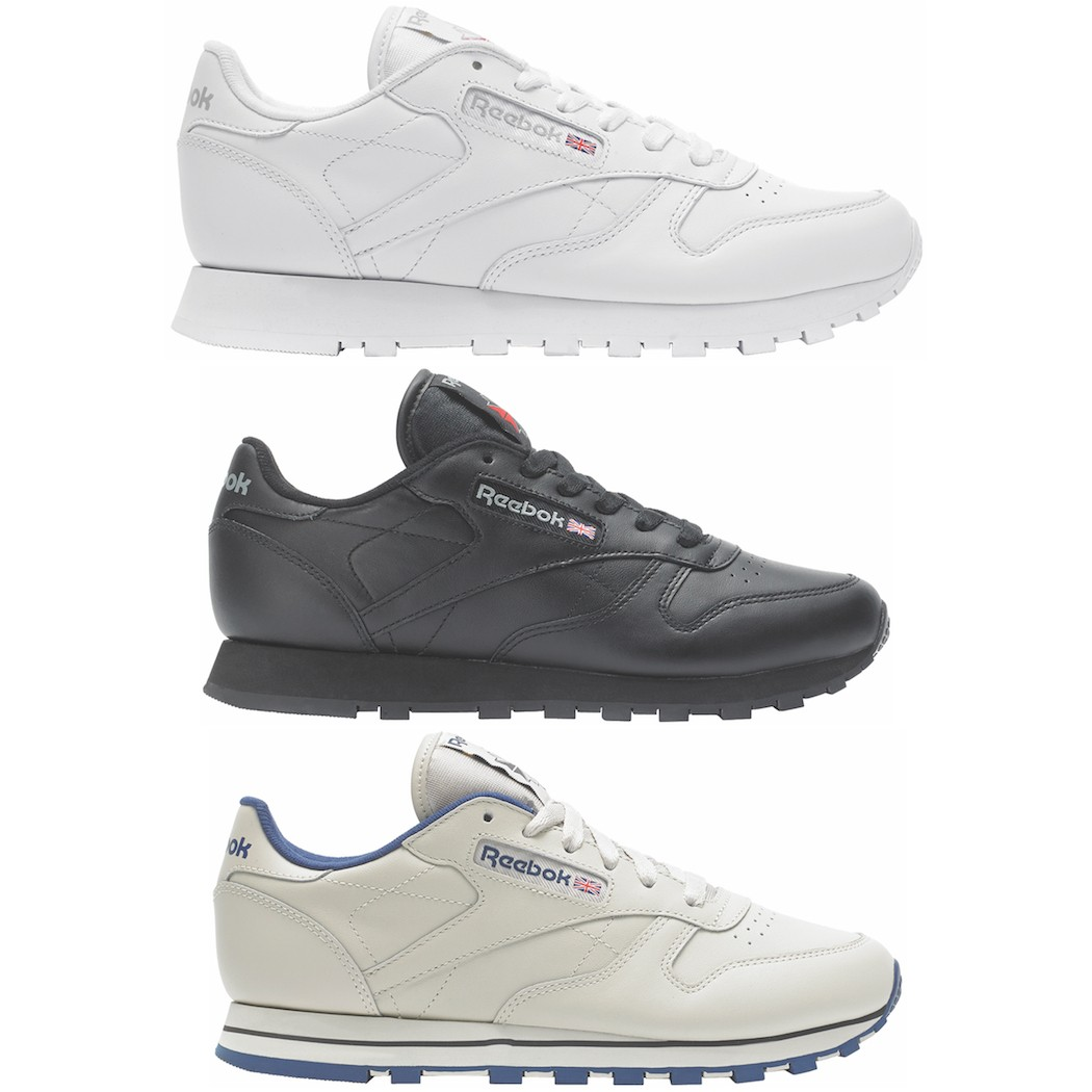 Reebok Damen Classic Leather (Leder) Sneaker Freizeitschuh
