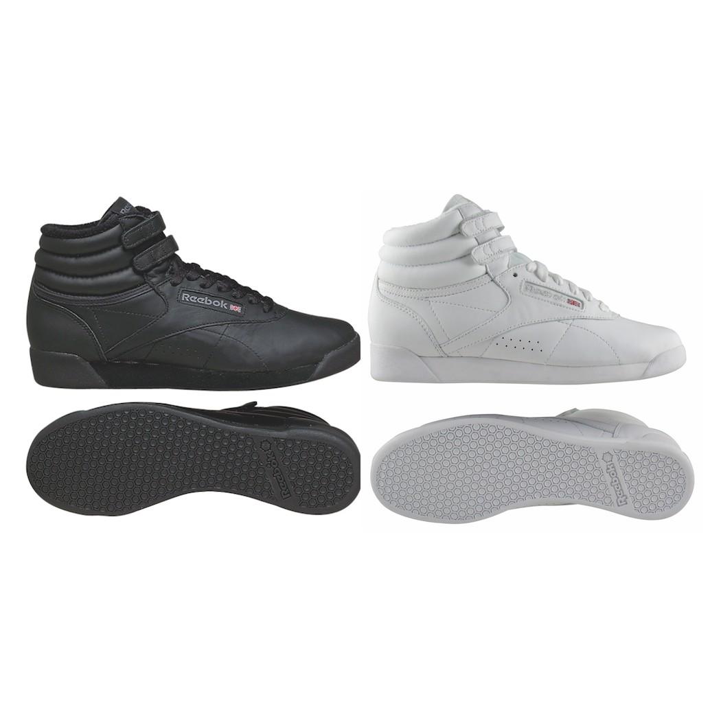 Reebok Freestyle HI Sneaker für Damen Schwarz
