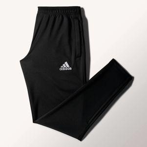 adidas Core15 Trainingshose lang schwarz/weiß – Bild 1
