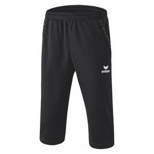 Erima 3/4 Trainingshose dreiviertel Sporthose schwarz