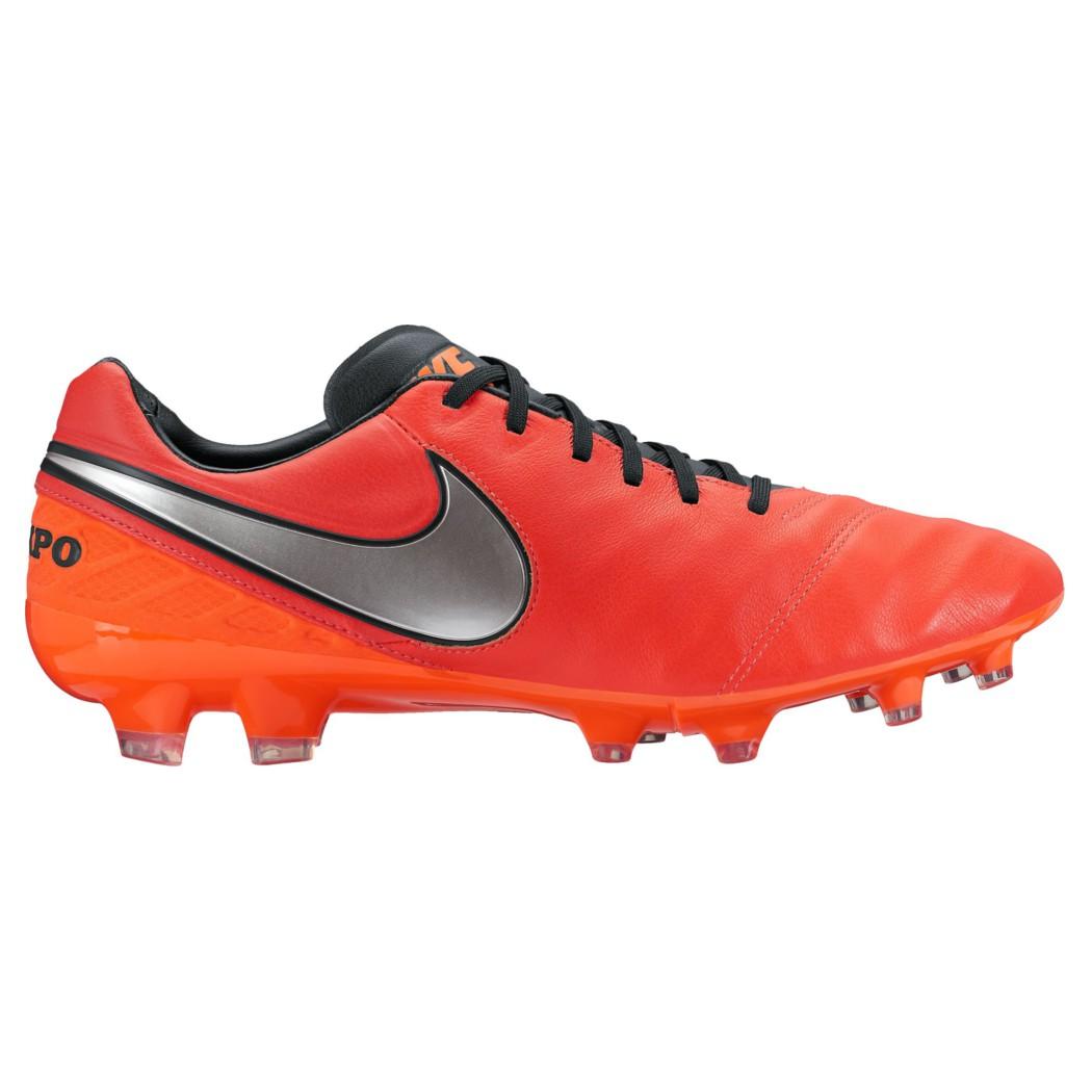 online here on sale vast selection Nike Tiempo Legacy II FG Leder Fußballschuhe rot/silber/schwarz