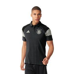 adidas DFB Poloshirt Deutschland Nationalmannschaft EM 2016 grau
