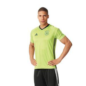 adidas DFB Training Shirt Trainingstrikot Deutschland EM 2016 slime