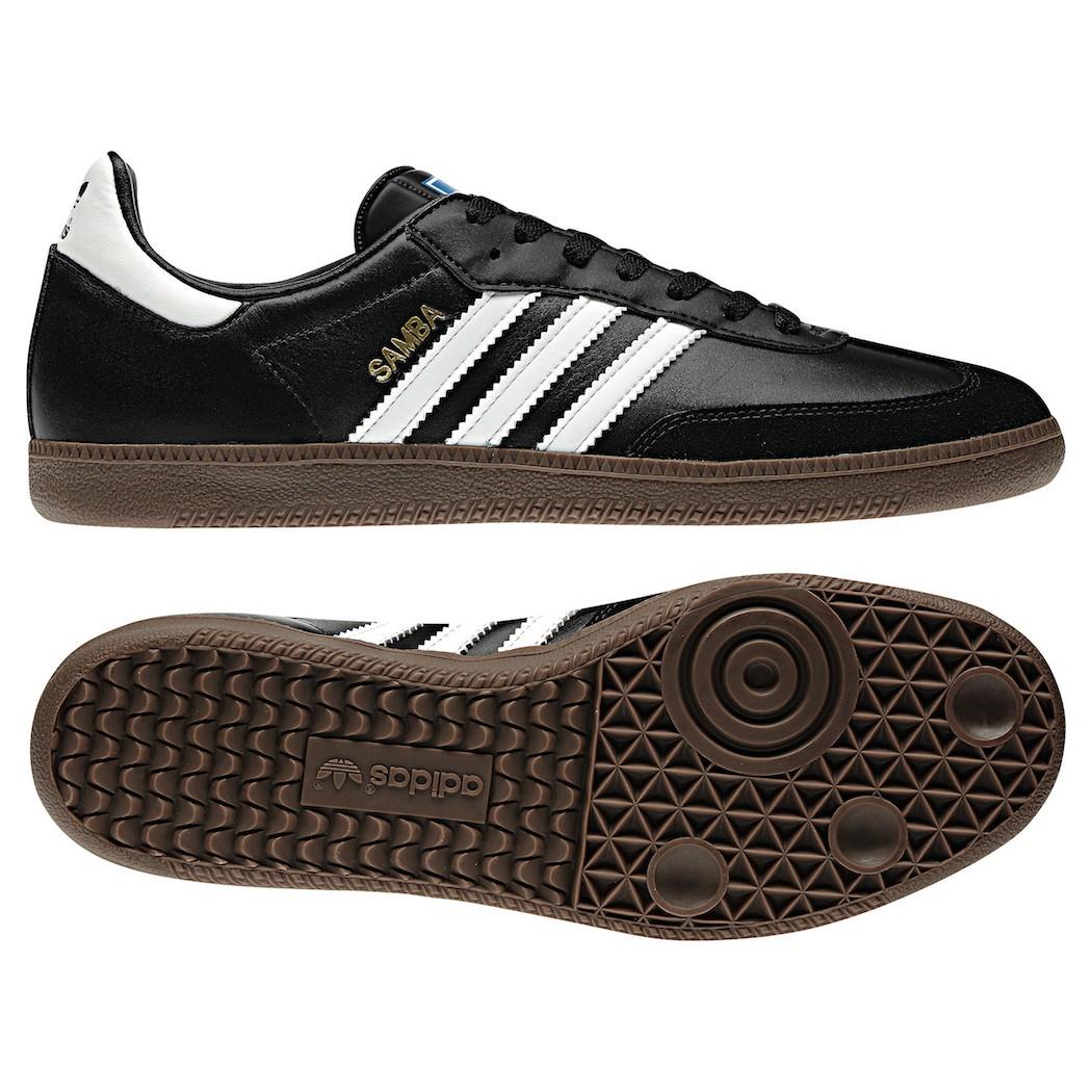 adidas oiginals samba sneaker schwarz wei klassiker mode herren schuhe. Black Bedroom Furniture Sets. Home Design Ideas