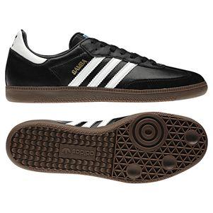 adidas OIGINALS Samba Sneaker schwarz/weiß Klassiker  – Bild 1