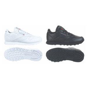 Reebok Classic Leather Grade School Leder Sneaker Kinder Freizeitschuh – Bild 1