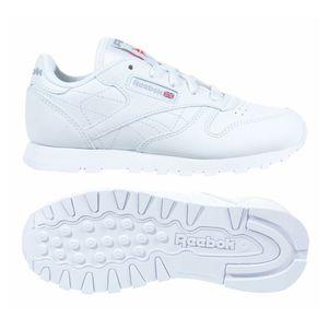 Reebok Classic Leather Grade School Leder Sneaker Kinder Freizeitschuh – Bild 2