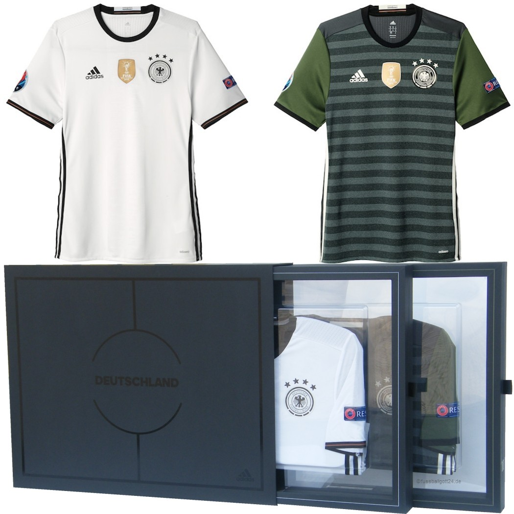 adidas DFB Collector Authentic Jersey Heim- und Auswärttrikot EM ...