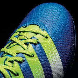 adidas ACE 16.3 Primemesh FG/AG Junior mit Knöchel Socken blau – Bild 6