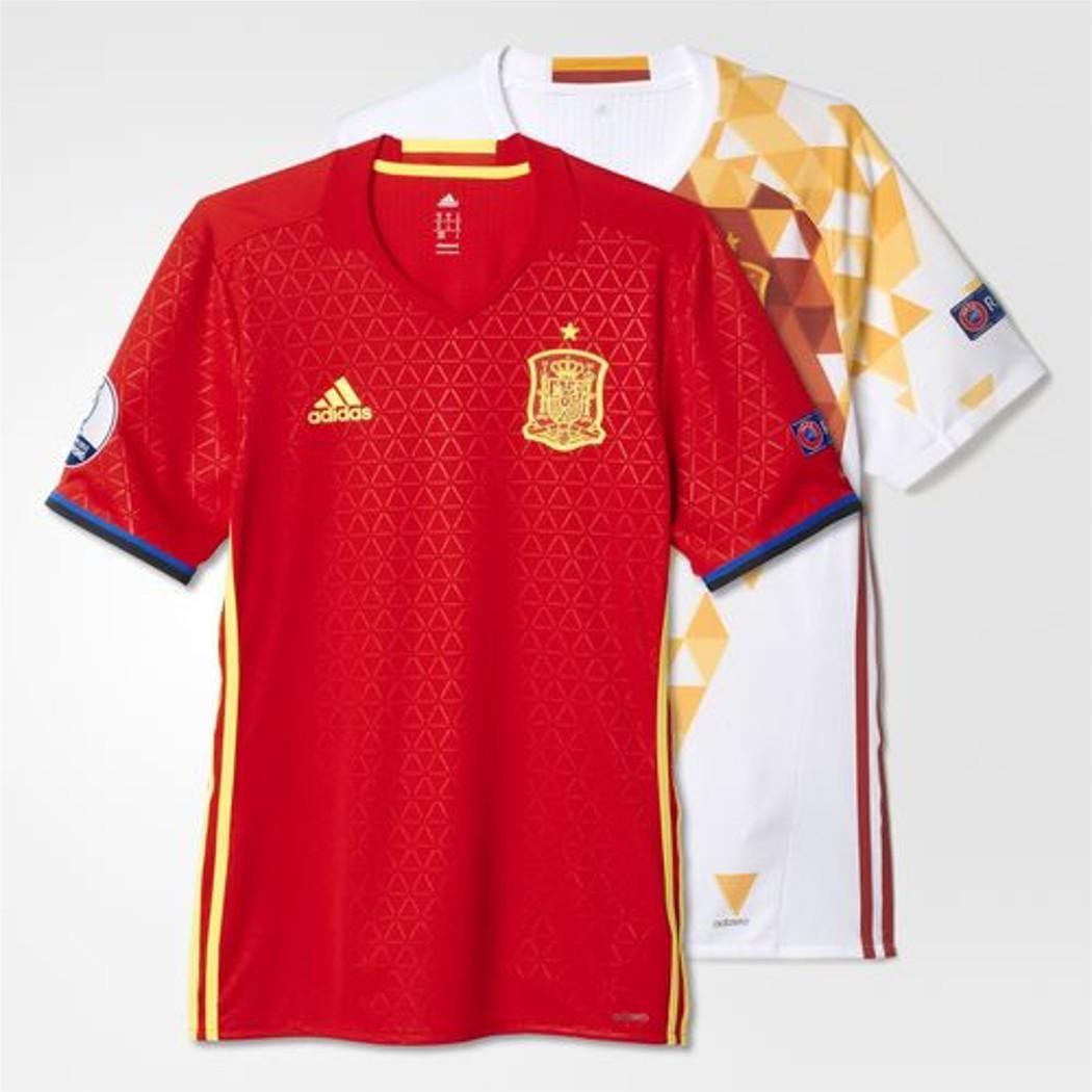 adidas Spanien Collector Authentic Jersey Heim- und Auswärttrikot EM ...