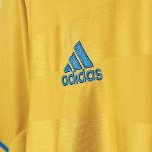 adidas SVFF Home Schweden Heimtrikot EM 2016 gelb – Bild 6