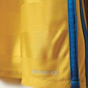 adidas SVFF Home Schweden Heimtrikot EM 2016 gelb – Bild 7