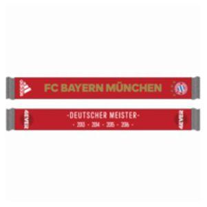 adidas Bayern München Schal 4Ever Deutscher Meister 2016
