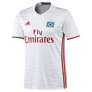 adidas HSV Hamburg Home Heimtrikot 2016/2017 weiß/blau – Bild 1