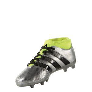 adidas ACE 16.3 Primemesh FG Junior Mercury Pack mit Knöchel Socken silber – Bild 3