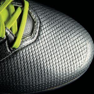 adidas ACE 16.2 Primemesh FG Mercury Pack Knöchel Socken silber/gelb – Bild 6