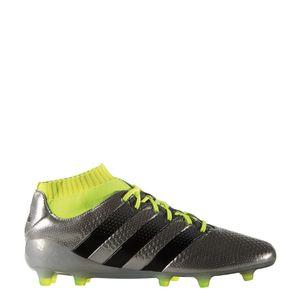 adidas ACE 16.1 Primeknit FG Mercury Pack Knöchel Socke silber/gelb – Bild 1