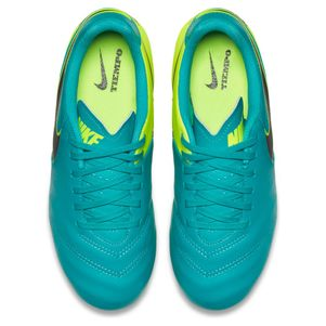 Nike Junior Tiempo Legend VI FG Spark Brilliance Pack türkis/gelb – Bild 5