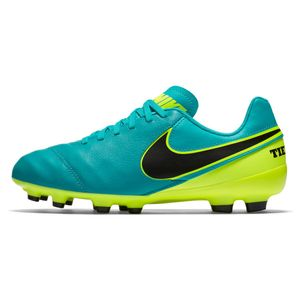 Nike Junior Tiempo Legend VI FG Spark Brilliance Pack türkis/gelb – Bild 2
