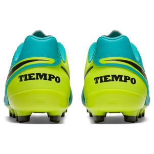 Nike Junior Tiempo Legend VI FG Spark Brilliance Pack türkis/gelb – Bild 6