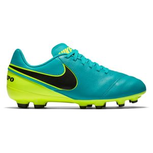 Nike Junior Tiempo Legend VI FG Spark Brilliance Pack türkis/gelb – Bild 1