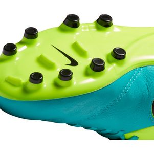 Nike Junior Tiempo Legend VI FG Spark Brilliance Pack türkis/gelb – Bild 7
