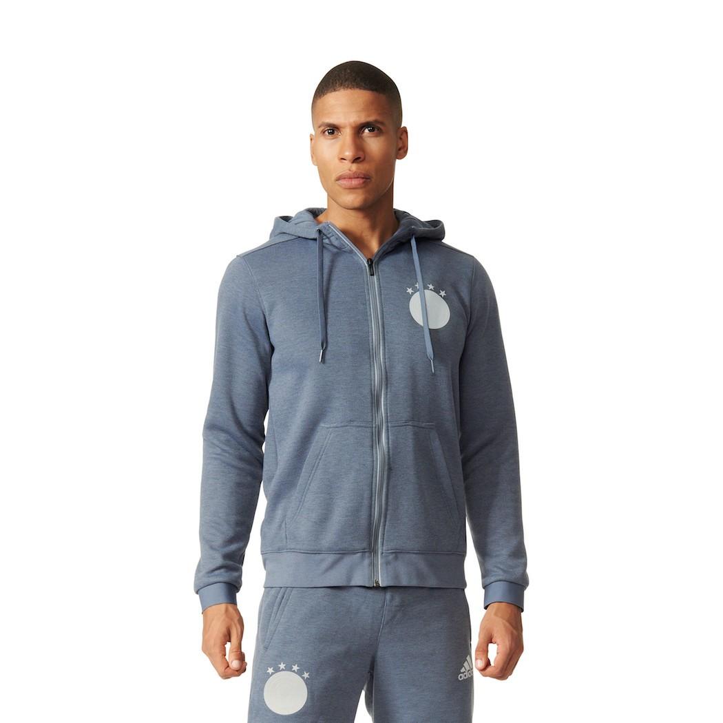 adidas DFB Statement Kapuzenjacke Deutschland EM 2016 onix