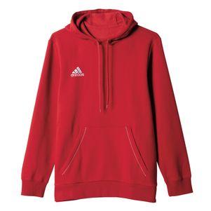 adidas Core 15 Hoody Kapuzenpullover rot/weiß – Bild 1