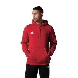 adidas Core 15 Hoody Kapuzenpullover rot/weiß – Bild 3