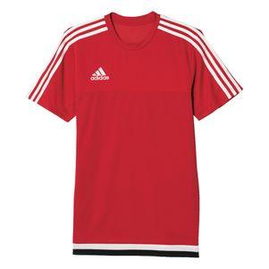 adidas Tiro15 Training Jersey Trainingsshirt rot/weiß/schwarz – Bild 1