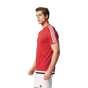 adidas Tiro15 Training Jersey Trainingsshirt rot/weiß/schwarz – Bild 4