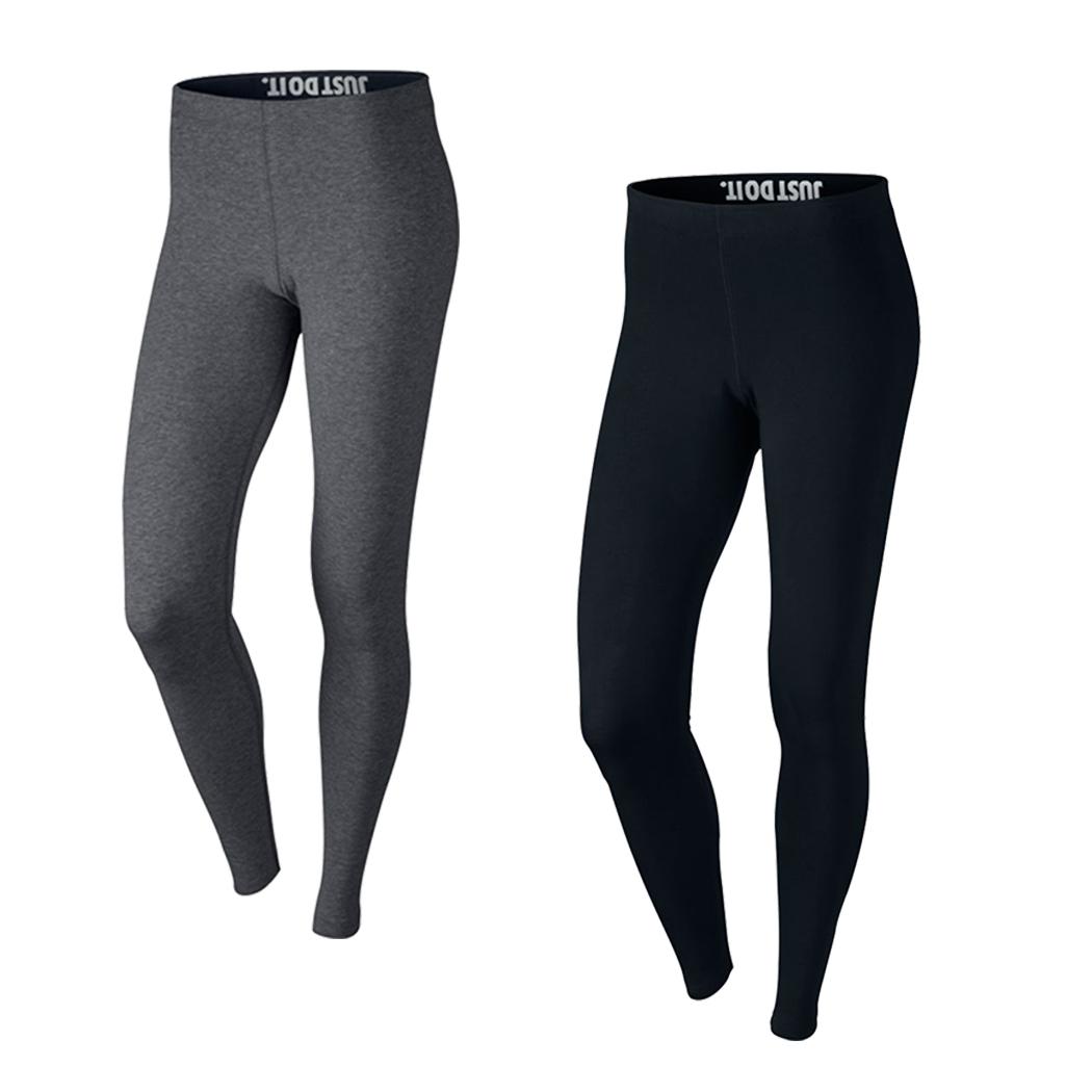Nike Damen Leg A See Logo Leggings schwarz