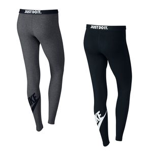 Nike Damen Leg-A-See Logo Leggings schwarz – Bild 2