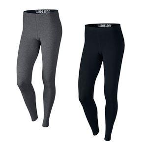 Nike Damen Leg-A-See Logo Leggings schwarz – Bild 1
