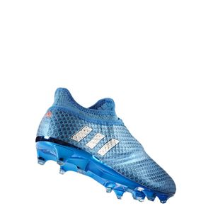 adidas Messi 16+ Pureagility FG Speed of Light Pack Techfit Socke blau – Bild 4