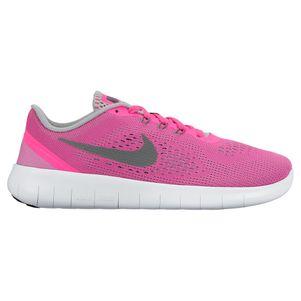 Nike Kids Free Run Freizeitschuh pink – Bild 1