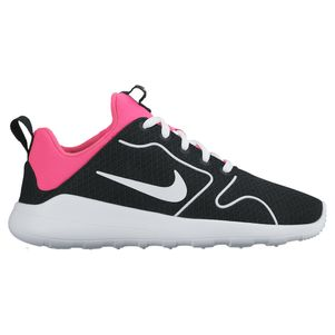 Nike Kaishi 2.0 Kinder Sneaker Freizeitschuhe schwarz/weiß/pink – Bild 1