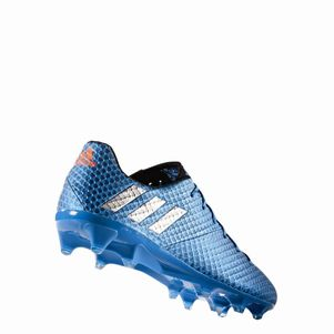 adidas Messi 16.1 FG Speed of Light Pack blau/silber/schwarz – Bild 4