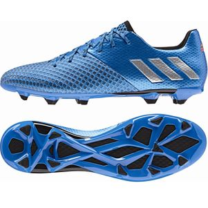 adidas Messi 16.2 FG Speed of Light Pack blau/silber/schwarz – Bild 2