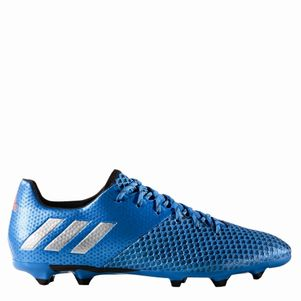 adidas Messi 16.2 FG Speed of Light Pack blau/silber/schwarz – Bild 1