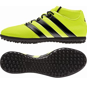 adidas ACE 16.3 Primemesh Turf Speed of Light Pack gelb Knöchelsocke – Bild 1